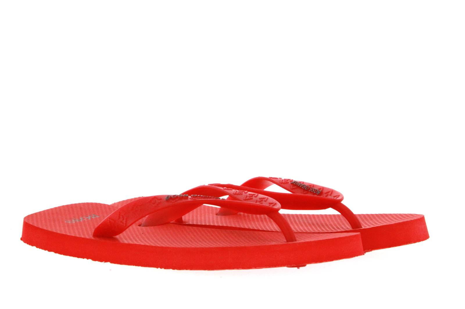 Hugo Boss flip flop LOY RED