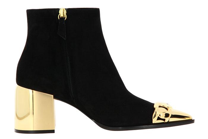 Casadei ankle boots CAMOSCIO NERO