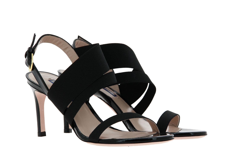 Stuart Weitzman sandals ADRIENNE BLACK PATENT