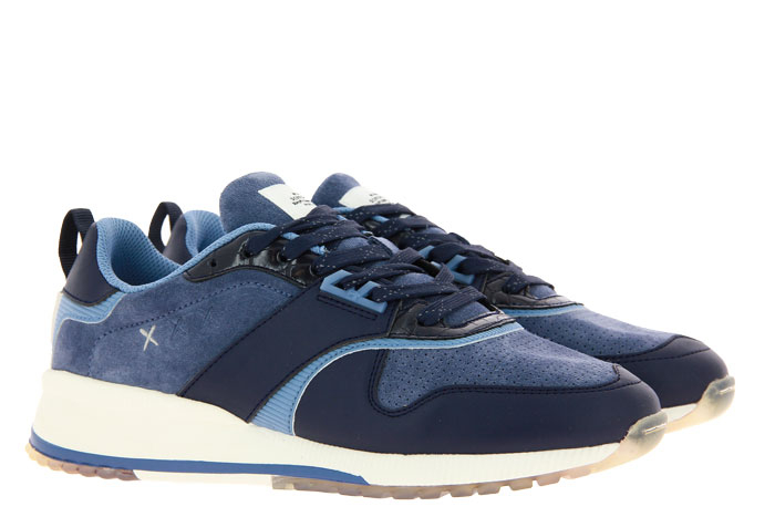 Scotch & Soda sneaker VIVEX LEATHER SUEDE NAVY BLUE