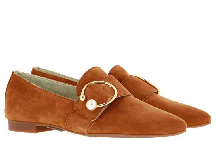 Paul Green loafer CARAMEL SUEDE