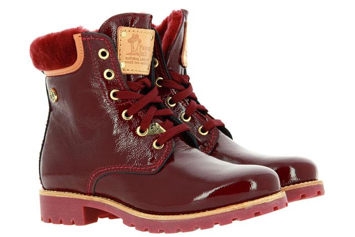 Panama Jack ankle boots lined PANAMA 03 IGLOO TRAVELLING CHAROL ROJO