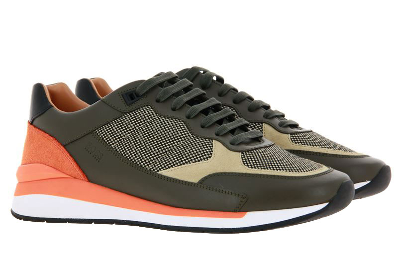 Hugo Boss sneaker ELEMENT RUNN OPEN GREEN