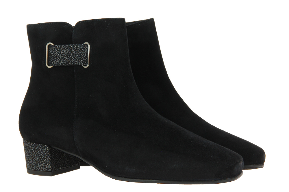 Hassia ankle boots EVELYN SCHWARZ SILBER