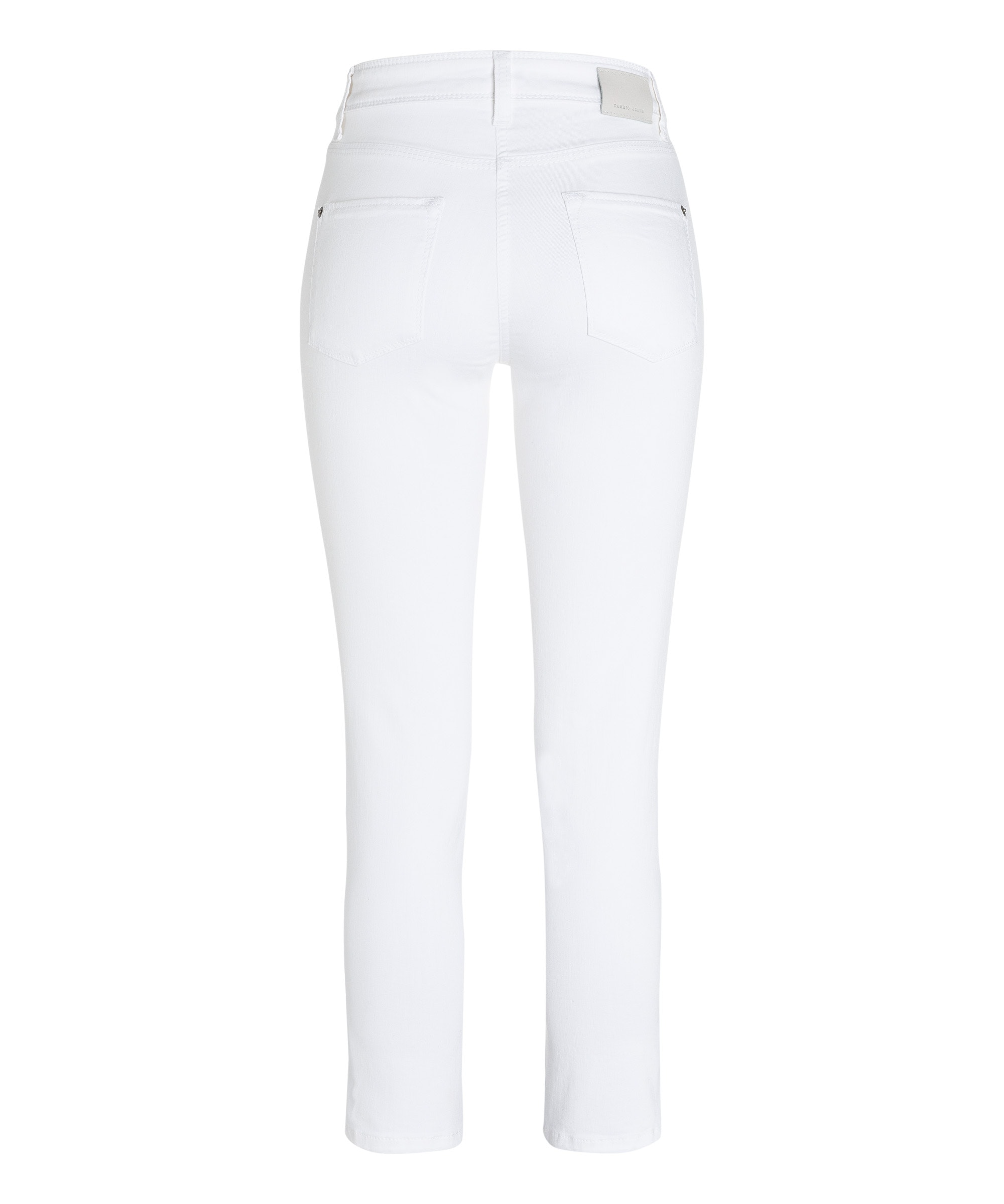 Cambio Jeans Piper short SOFTWASH WHITE