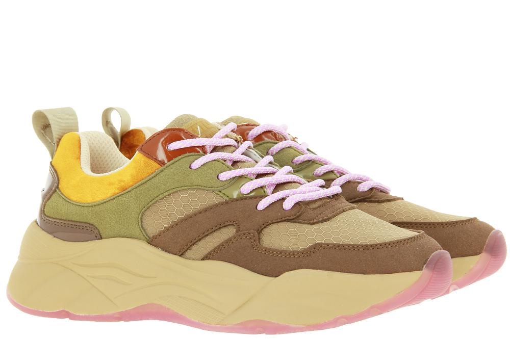 Scotch & Soda Sneaker CELEST SUEDE BROWN MULTI