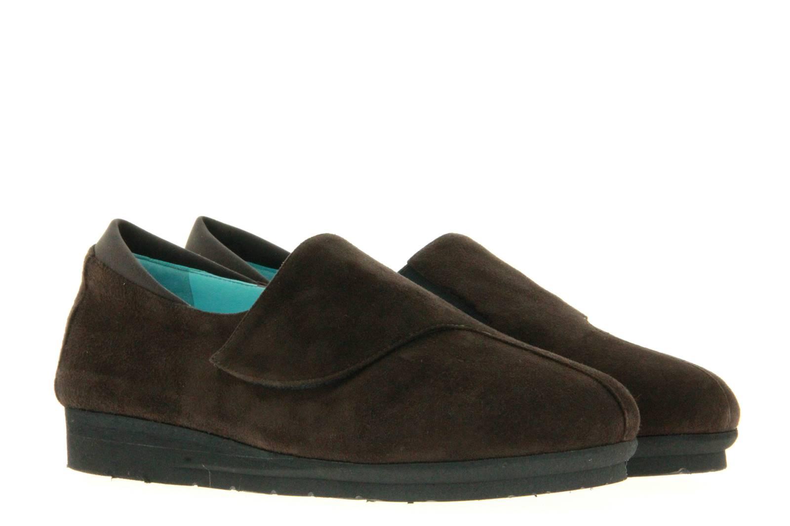 Thierry Rabotin Velcro shoe GRANIA CAMOSCIO T.D.MORO