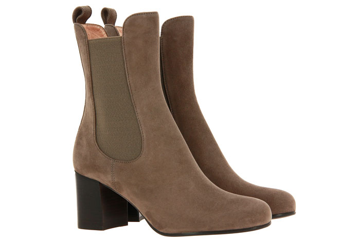 Unützer ankle boots CAMOSCIO 9582 TAUPE