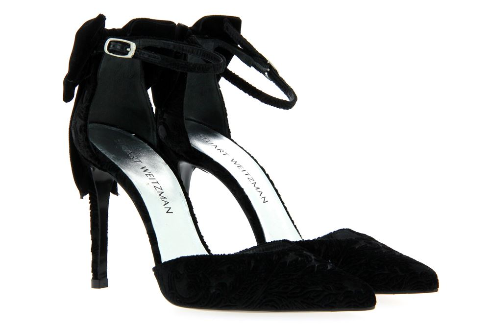 Stuart Weitzman sandals ROMATIC BLACK