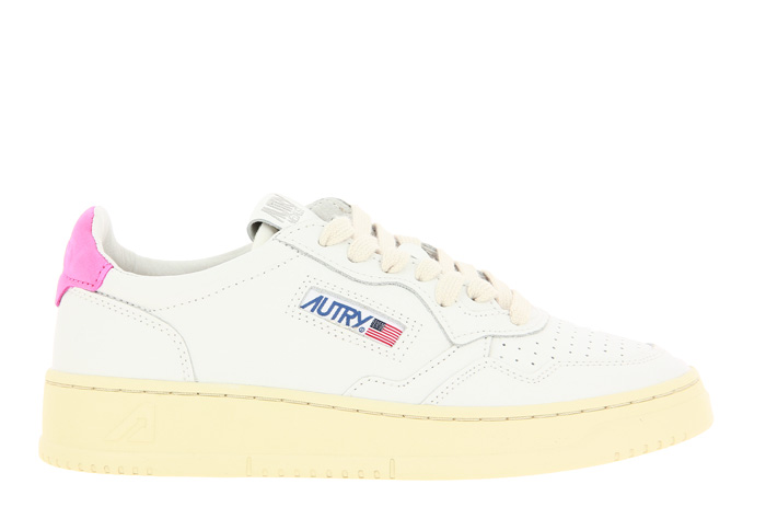 Autry sneaker LOW WOMAN WHITE CAMELLIA