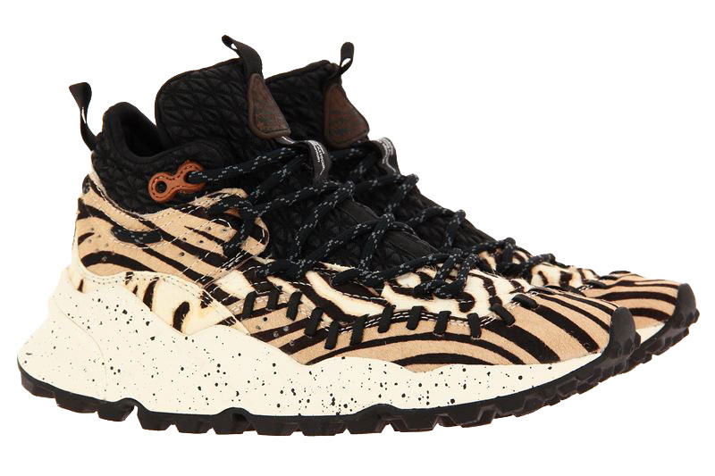 Flower Mountain sneaker MOHICAN MAN CAVALINO TIGER PRINT