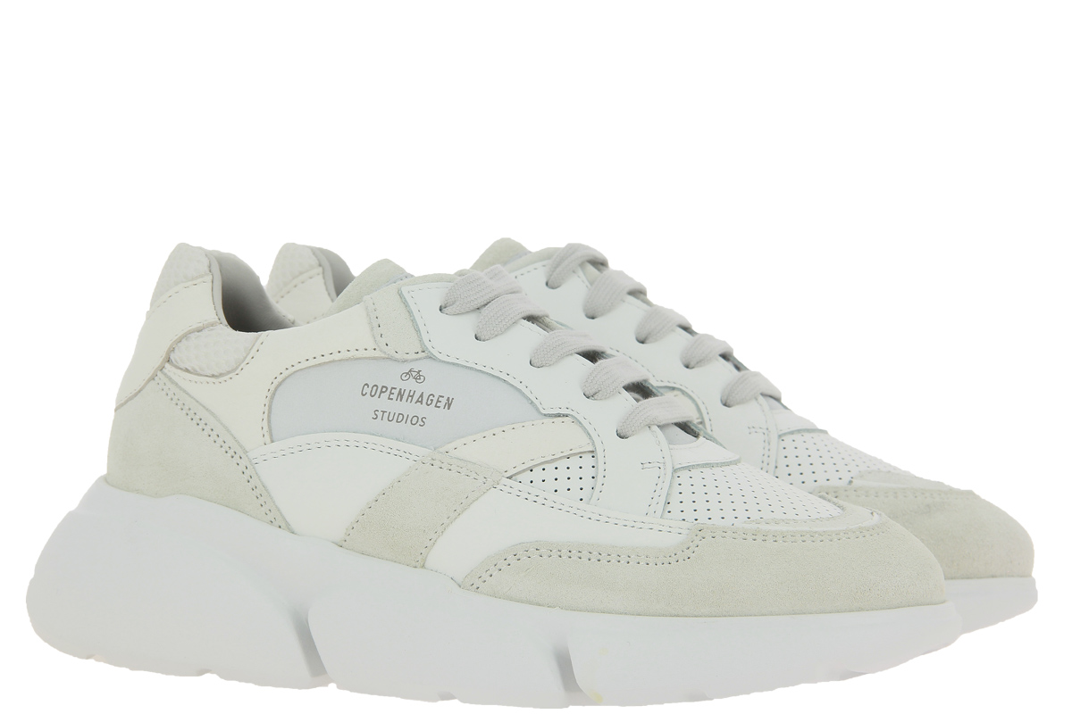 Copenhagen Sneaker CPH555 MIX WHITE