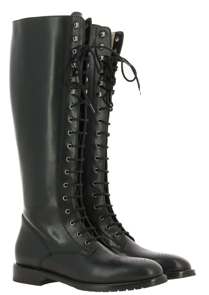 Dirndl + Bua boots BULGARO SCHWARZ