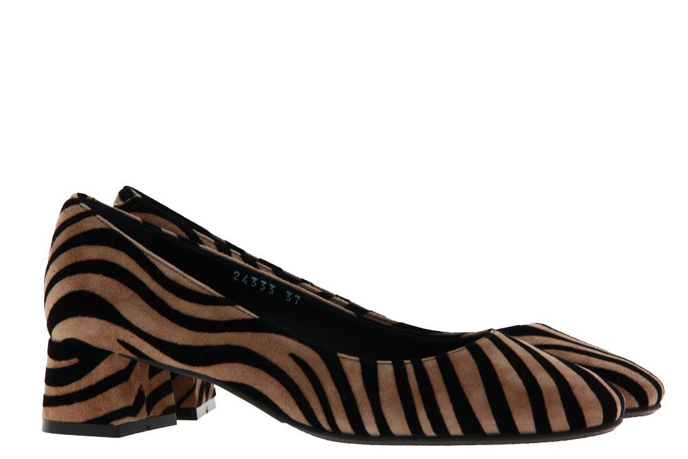 Zocal pumps ZEBRA CAMEL