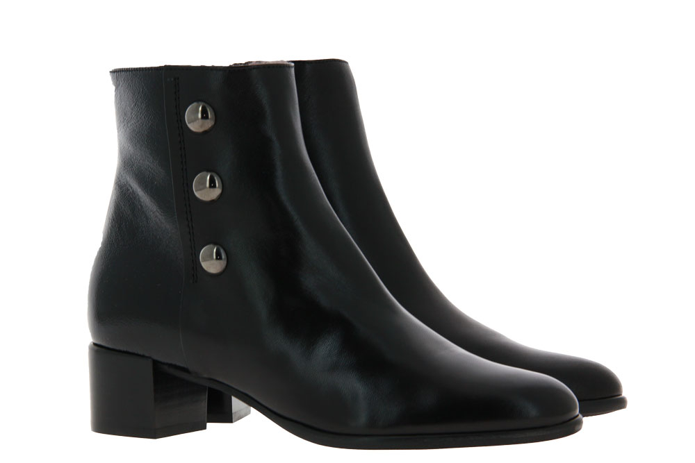 Zocal ankle boots lined NAPPA NERO