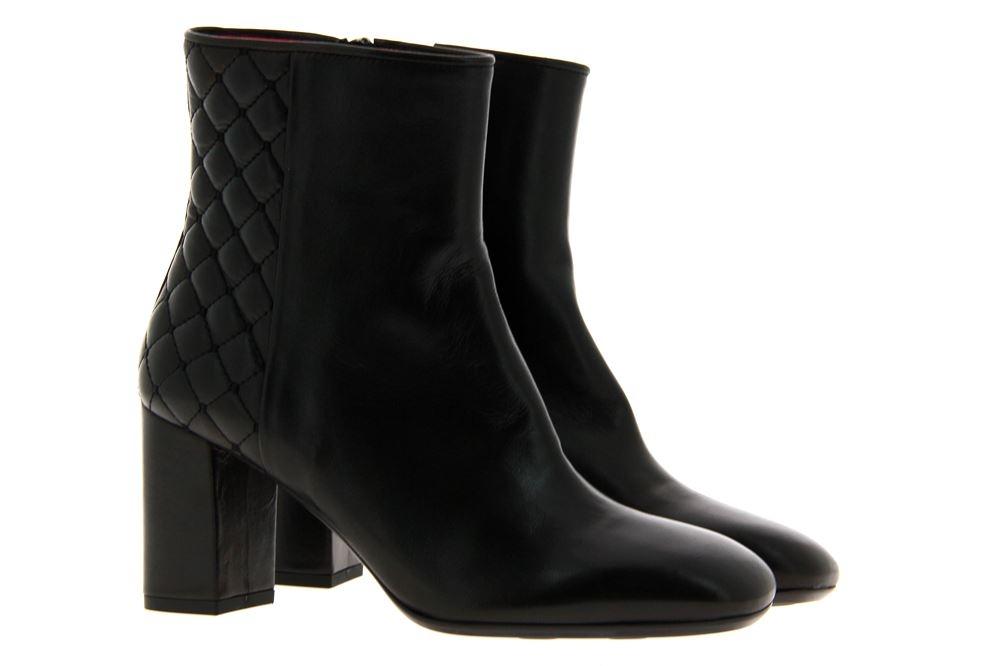 Pas de rouge ankle boots CHANTA NAPPA NERO
