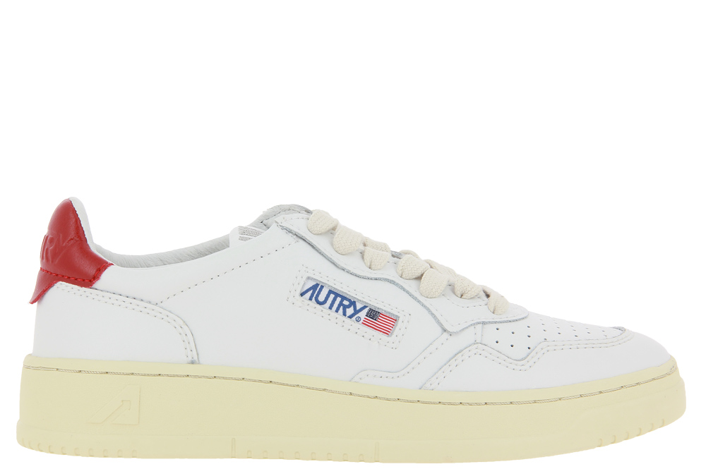 Autry Sneaker LOW WOMAN WHITE RED
