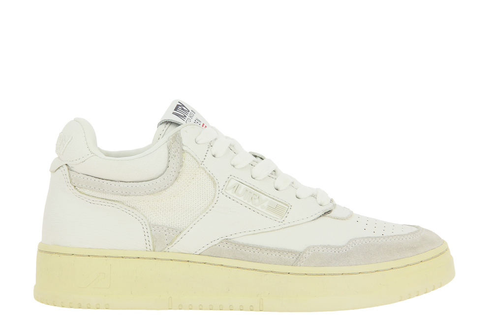 Autry sneaker MID WOMAN OPEN ALL WHITE