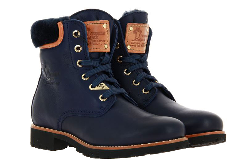 Panama Jack ankle boots lined 03 IGLOO TRAVELLING B11 NAPPA MARINO