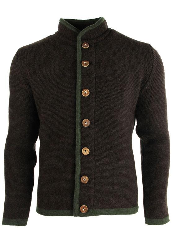 Liebling Tyrolean jacket THOMAS STEHKRAGEN BRAUN/GRÜN