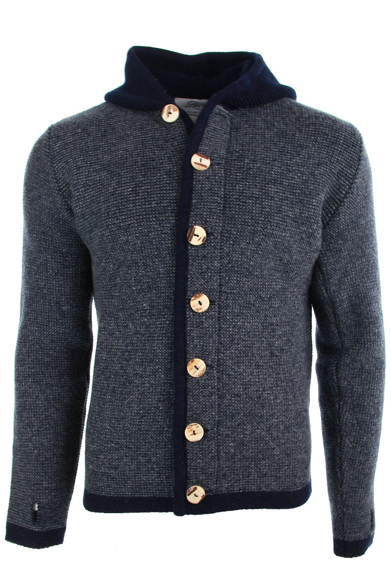 Liebling Tyrolean jacket VIKTOR NAVY GRAU