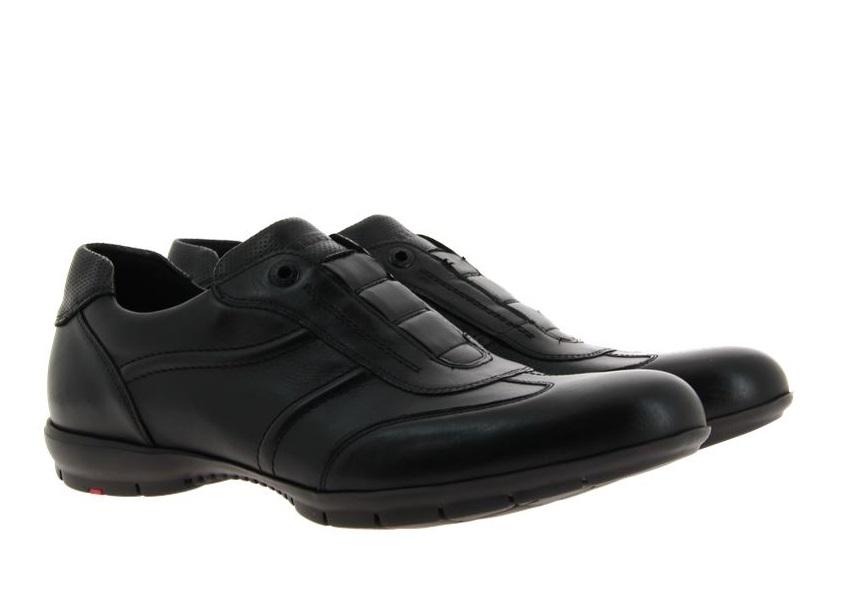 Lloyd sneaker ARCHER SAN REMO CALF SCHWARZ