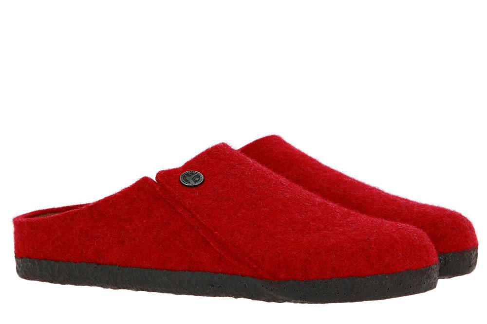 Birkenstock clogs SCHMAL ZERMATT RIVET BASIC RED