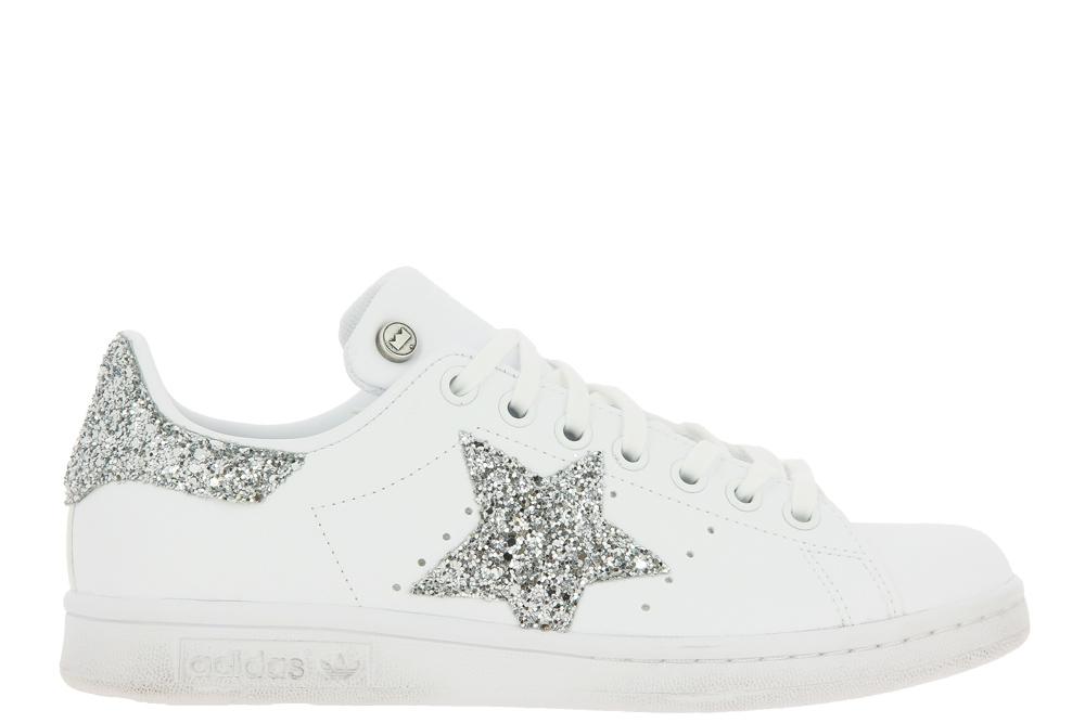Adidas sneaker by BallodaSola STAN SMITH STAR SILVER