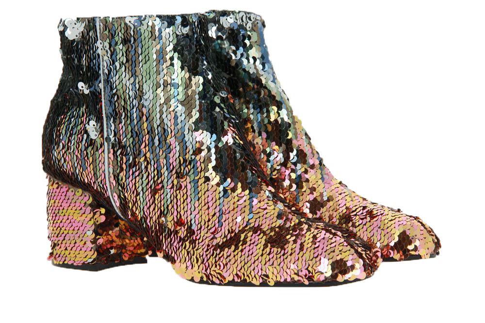 Pollini ankle boots SEQUIN MULTI