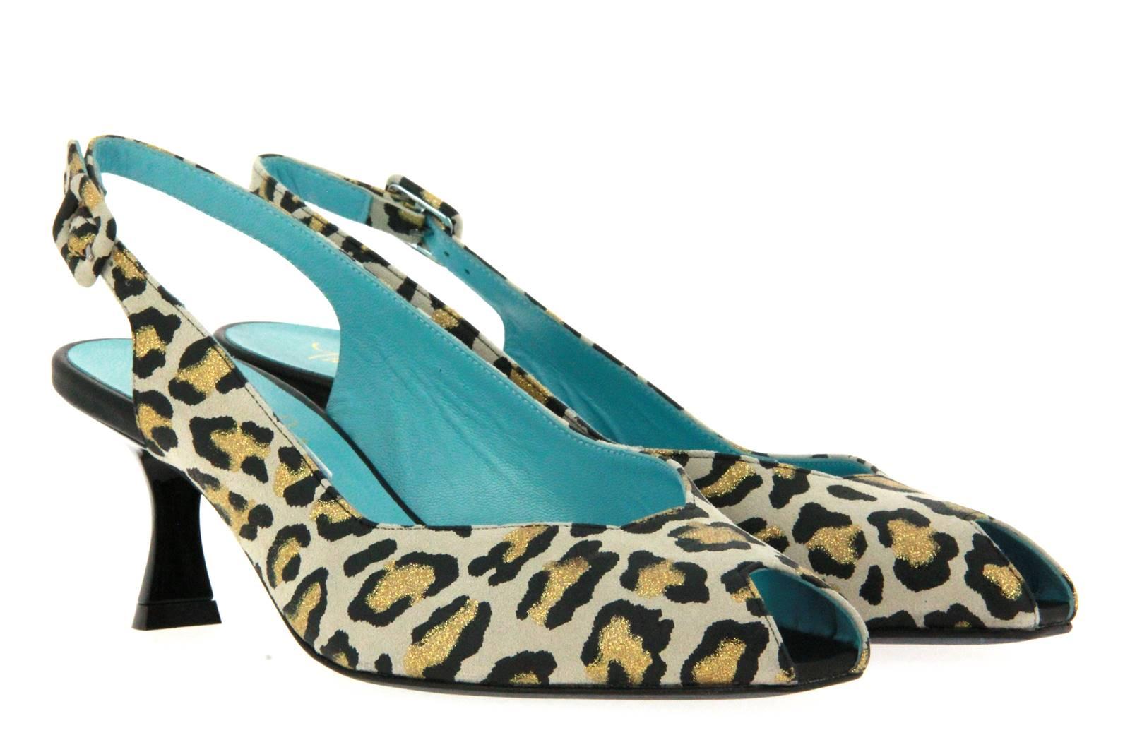 Thierry Rabotin sandal NUBA LEOPARD