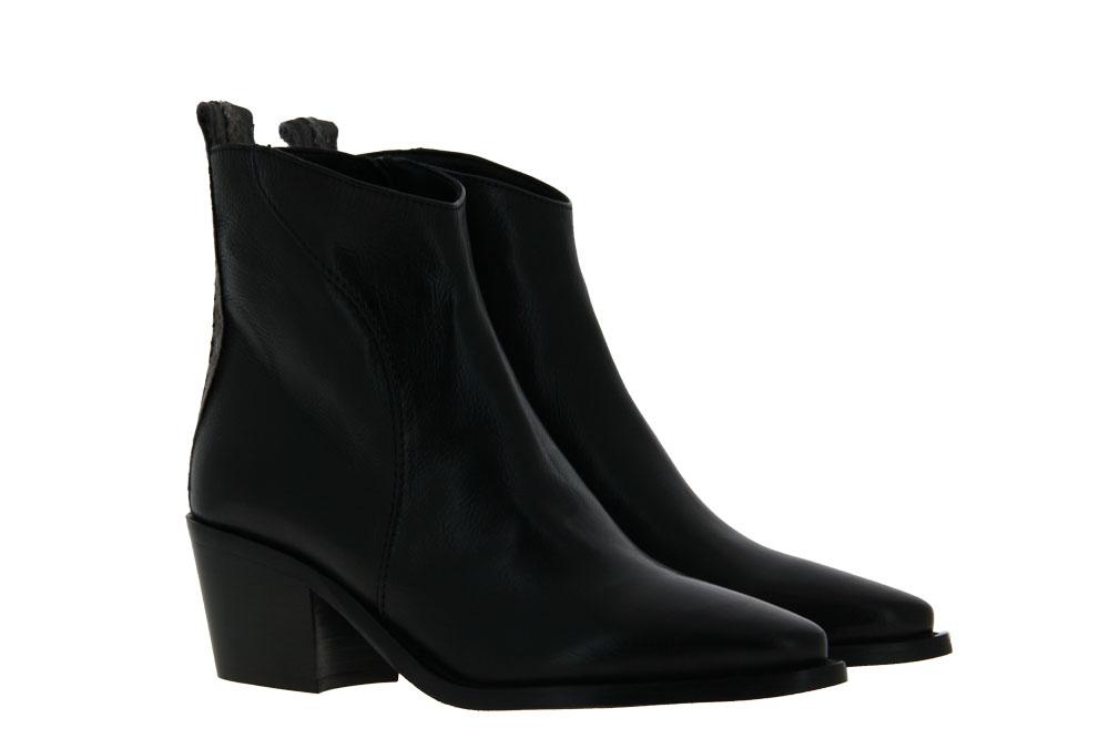 Donna Carolina ankle boots TEXAS NERO DIAMANTE ROCCIA SUOLA