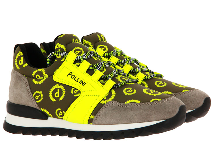 Pollini sneaker RICCIONE NEON GIALLO