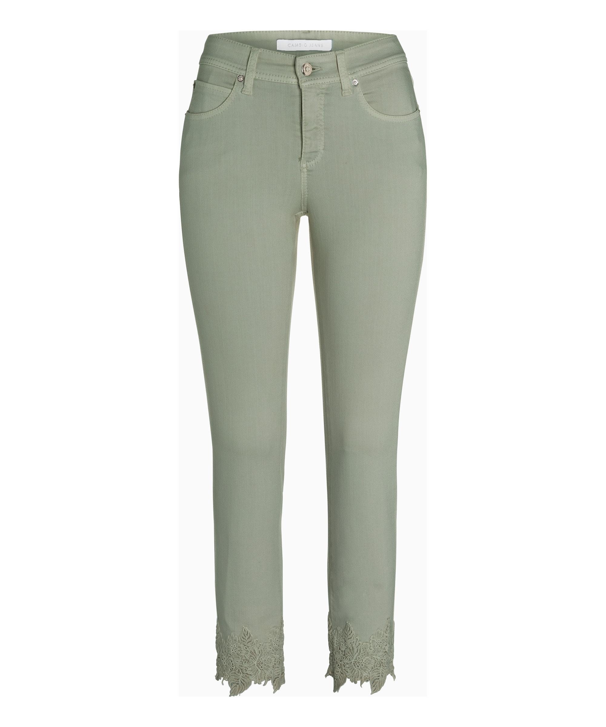 Cambio Jeans Parla OLIVE CREAM