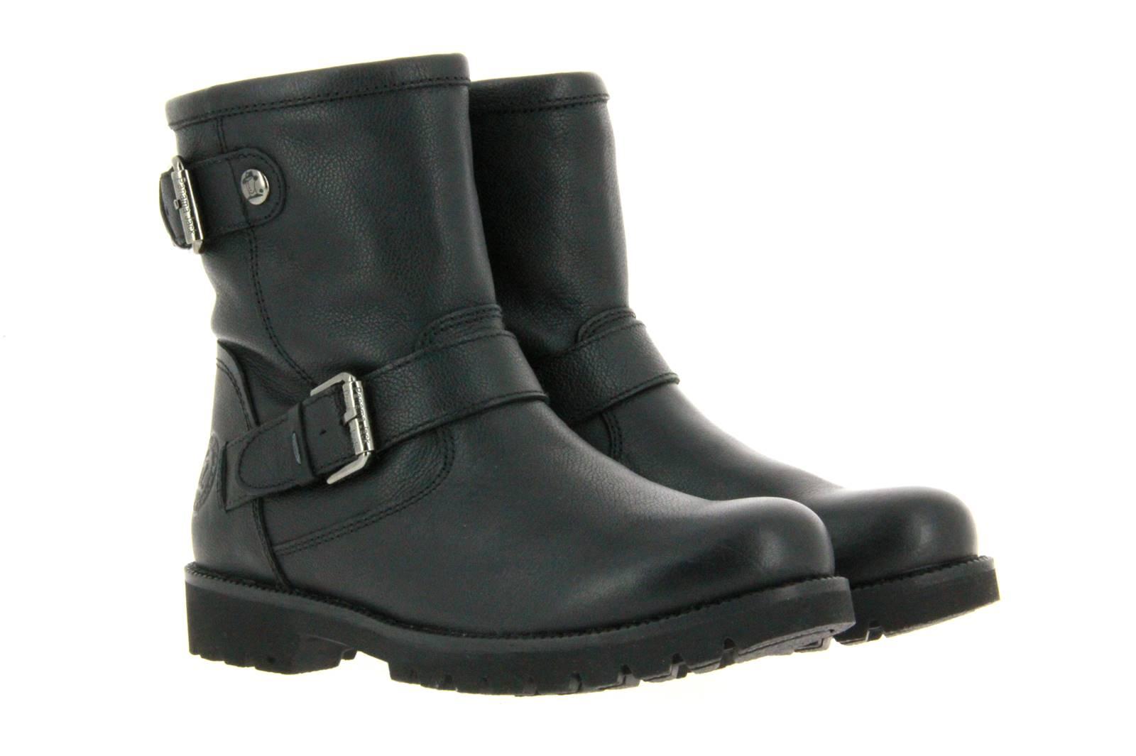 Panama Jack ankle boots lined FELINE IGLOO NAPA GRASS NEGRO