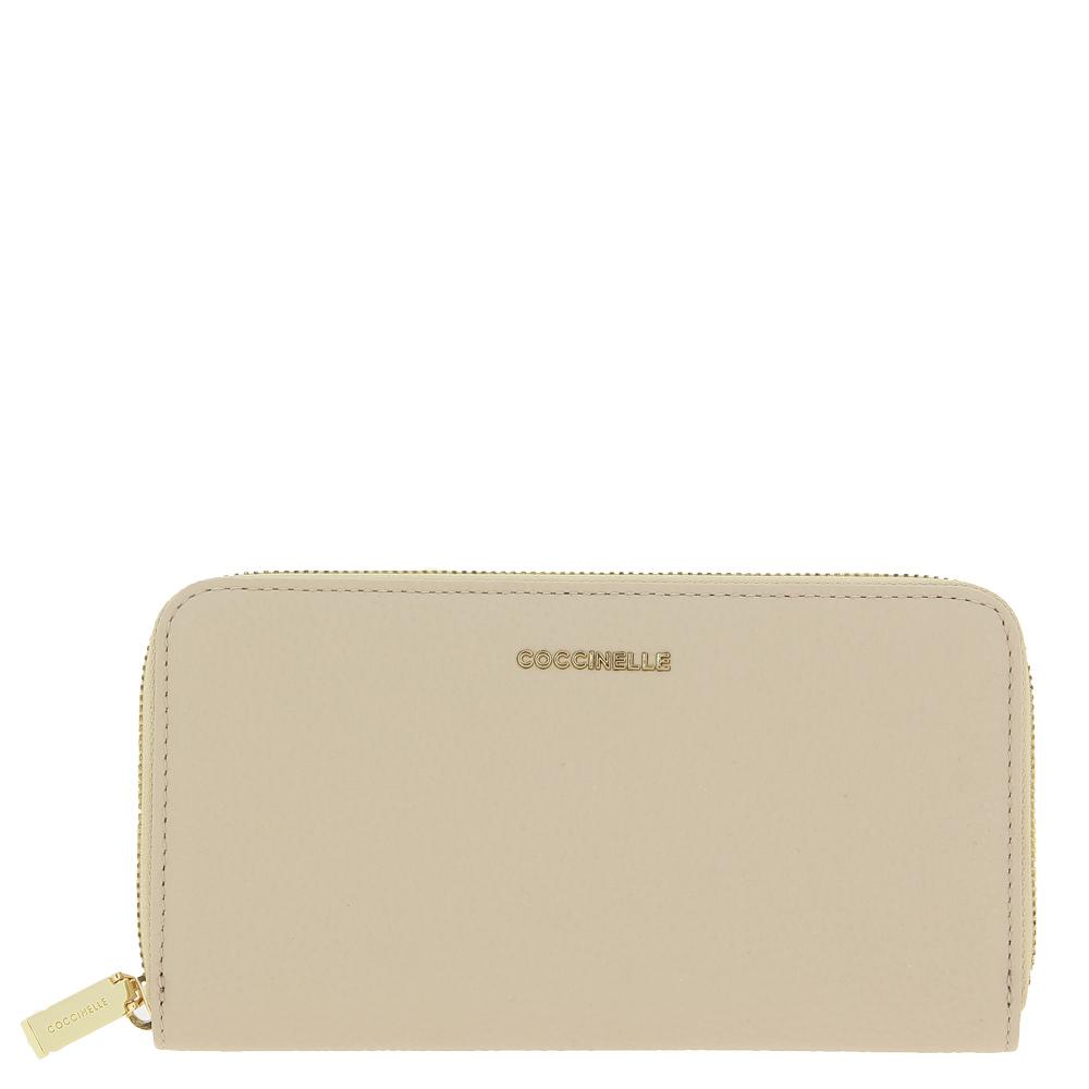 Coccinelle purse METALLIC SOFT LEA POWDER PINK