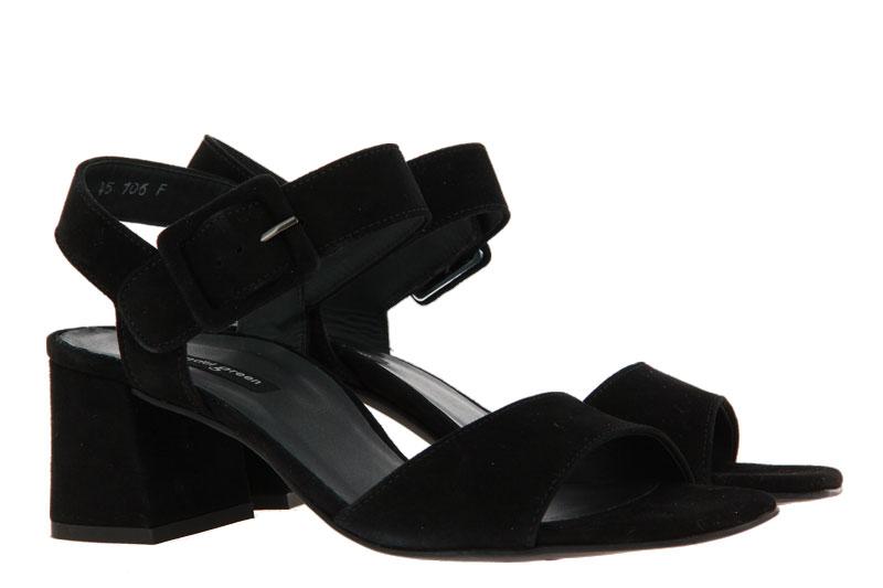 Paul Green sandals SAMTZIEGE SCHWARZ