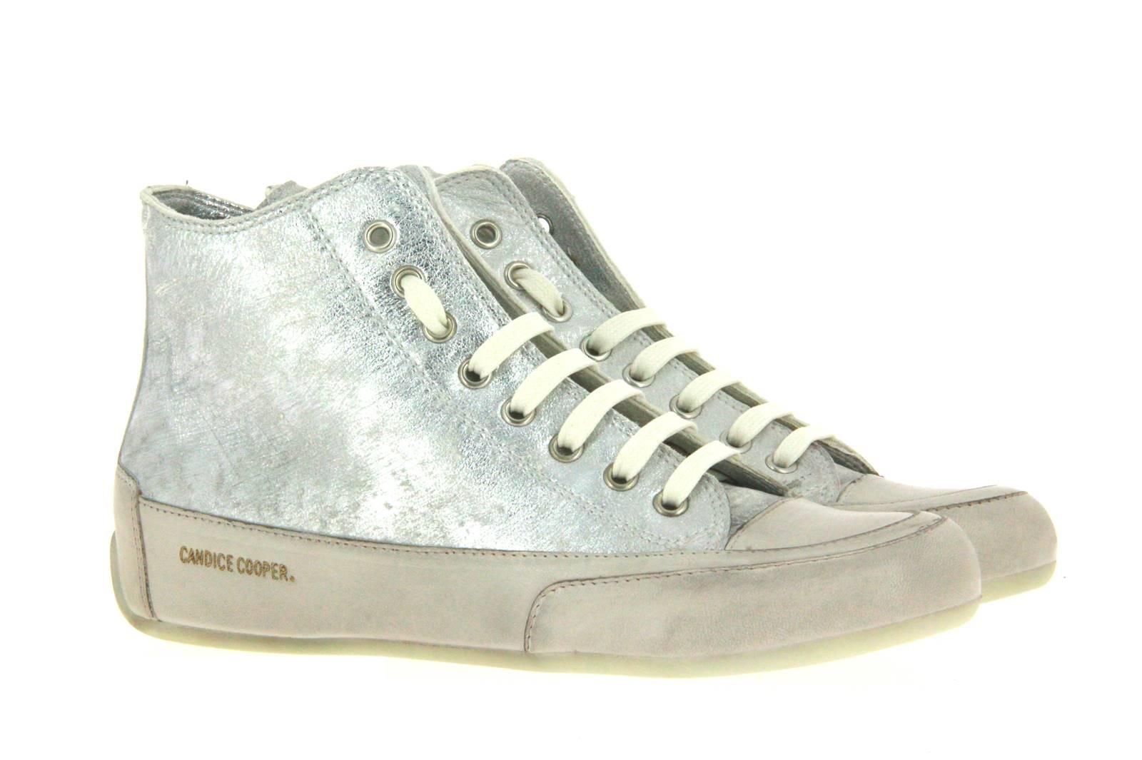 Candice Cooper sneaker PLUS ZIP BIANCO