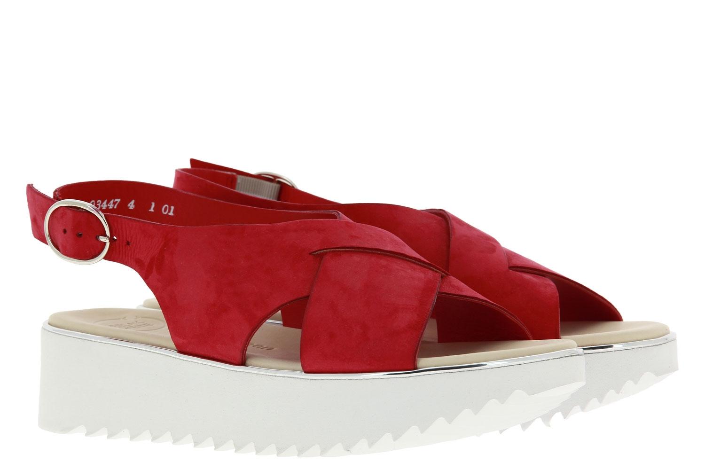 Paul Green sandals ROYAL NUBUK RED