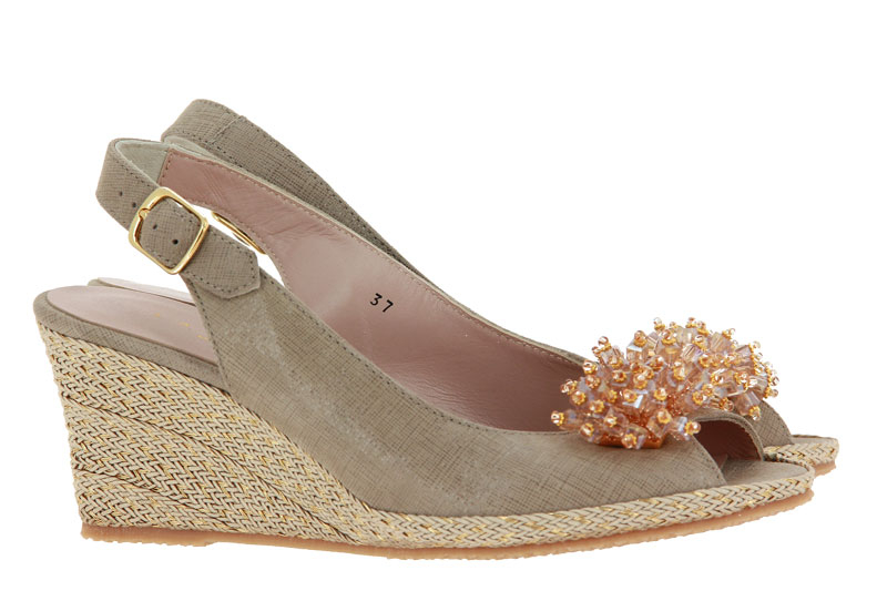 La Badia wedge sandals ESTER CARTIZZE SAND