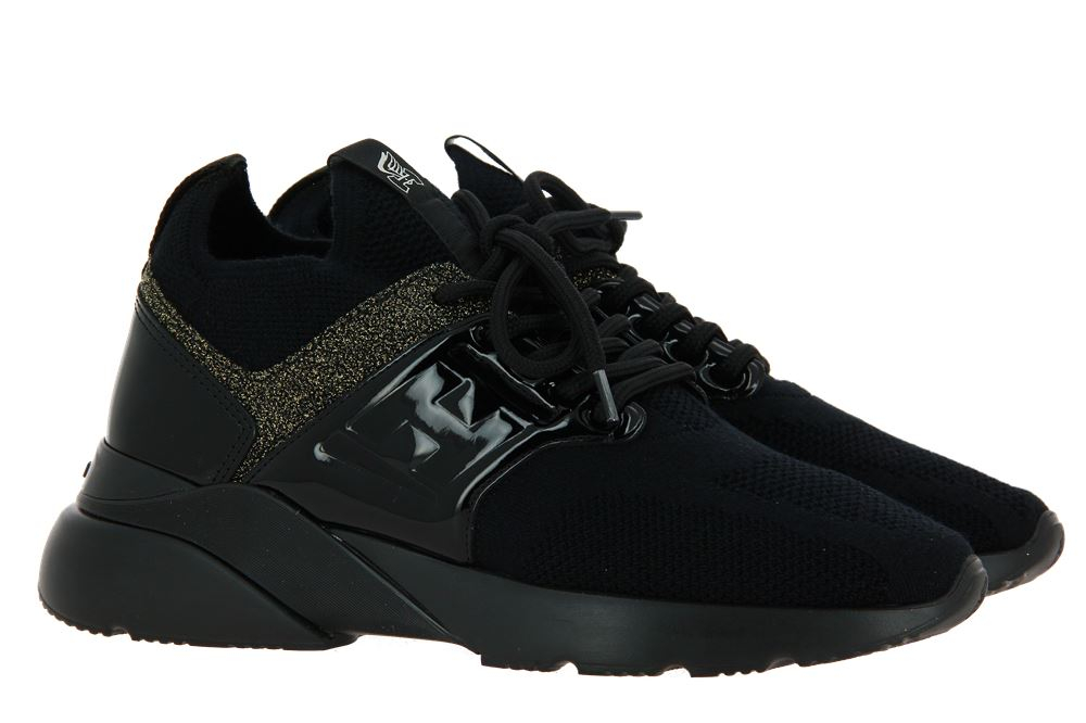 Hogan sneaker ACTIVE ONE KNITTED NASEL NERO ORO
