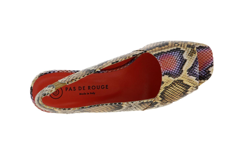 Pas de rouge sandals PHYTON MULTICOLOR