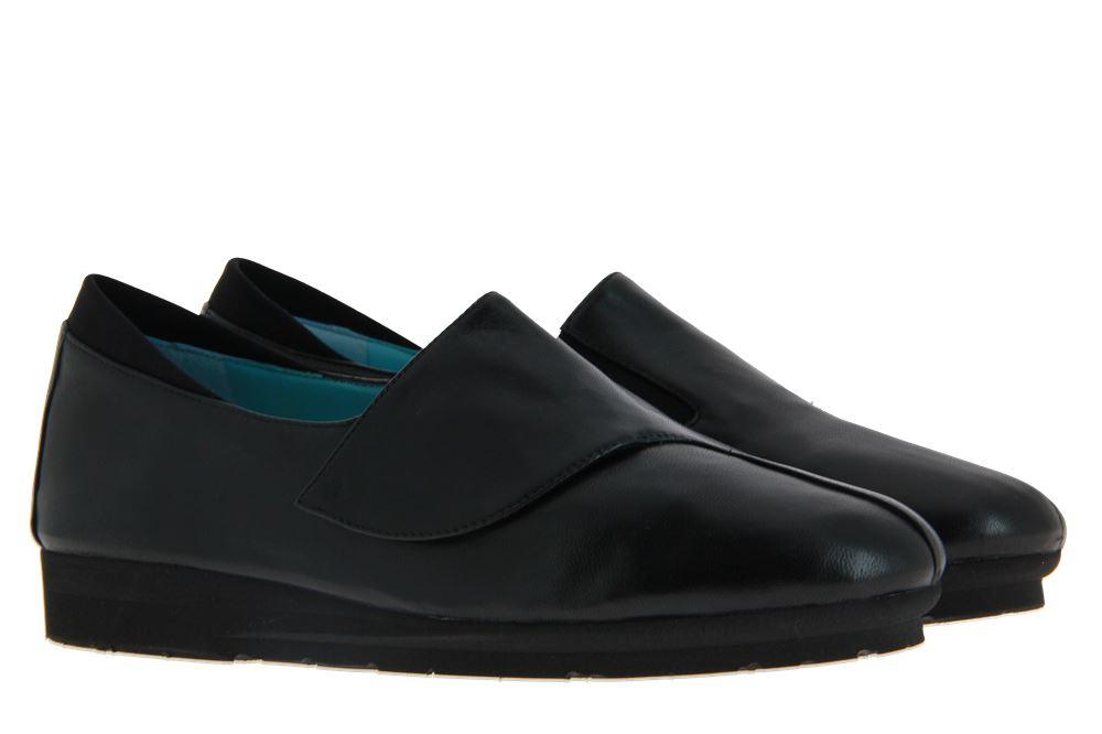 Thierry Rabotin Velcro shoe GRANIA NAPPA NERO