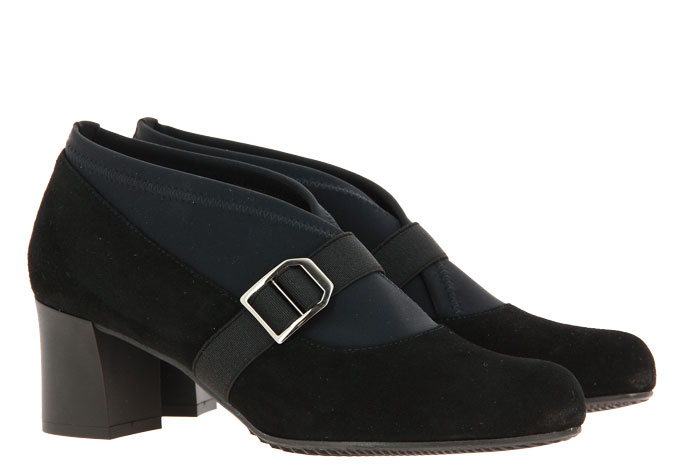 Brunate loafer BIBA CAMOSCIO STEP NERO