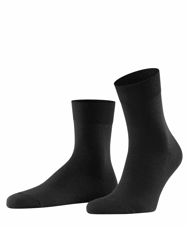 FALKE Airport mens socks BLACK