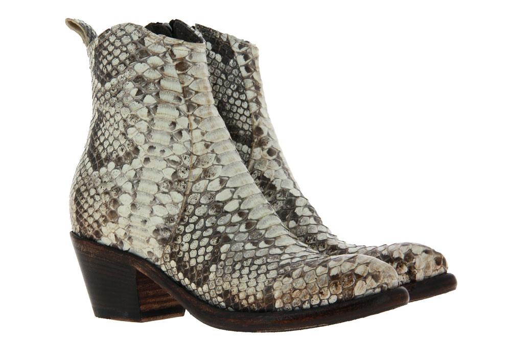 La Bottega di Lisa ankle boots PITONE ROCCIA