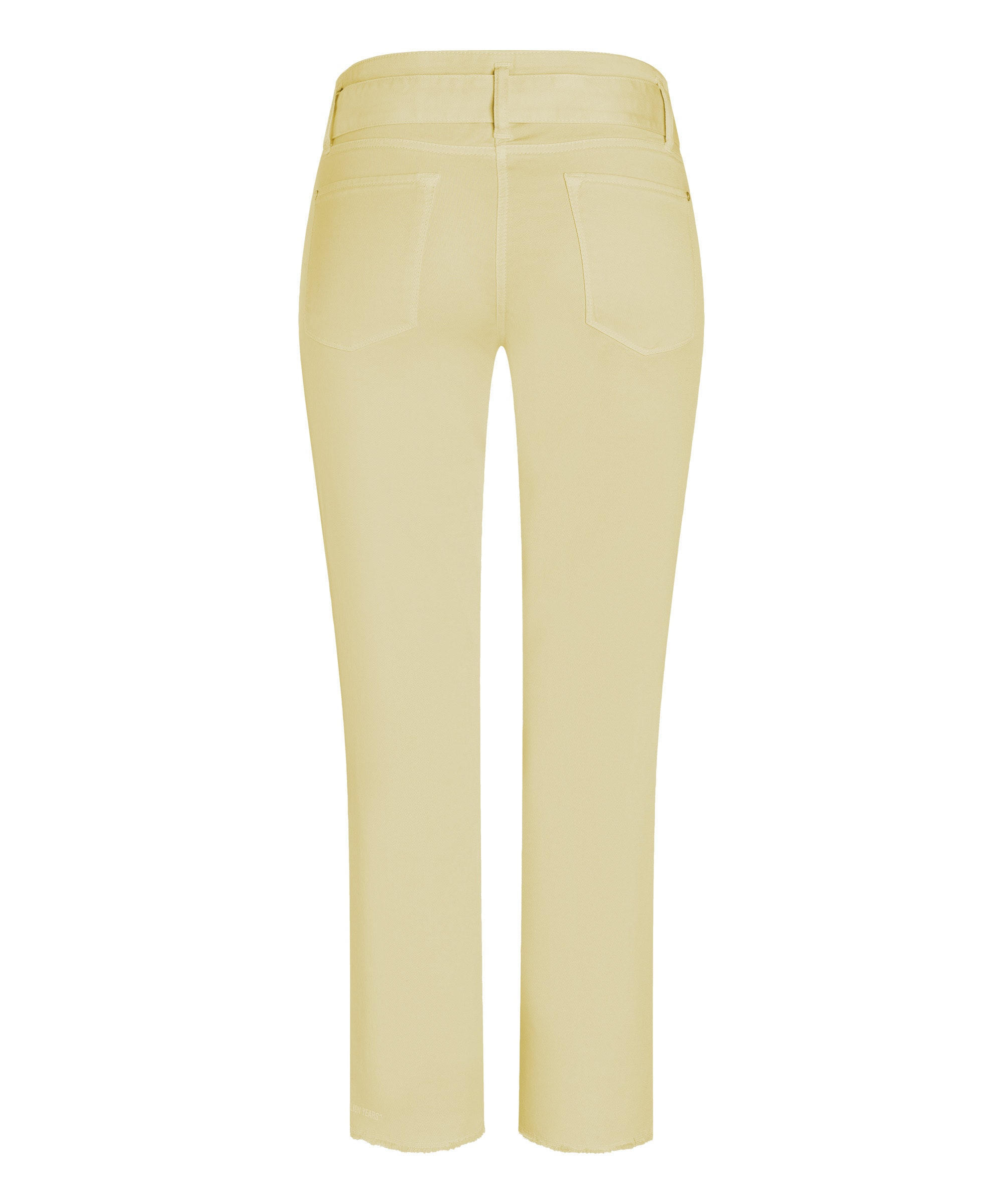 Cambio Stoffhose Scout cropped HAPPY YELLOW