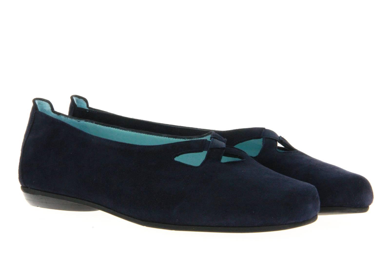 Thierry Rabotin Ballet Flat CAMOSCIO BLU