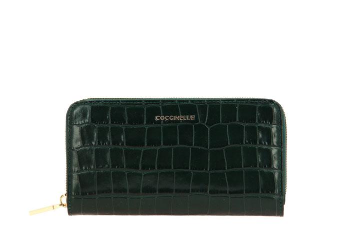 Coccinelle wallet METALLIC CROKO MALLARD GREEN