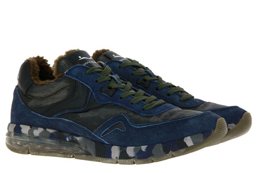 Voile Blanche sneaker lined ENDAVOUR BLEU MILITARE