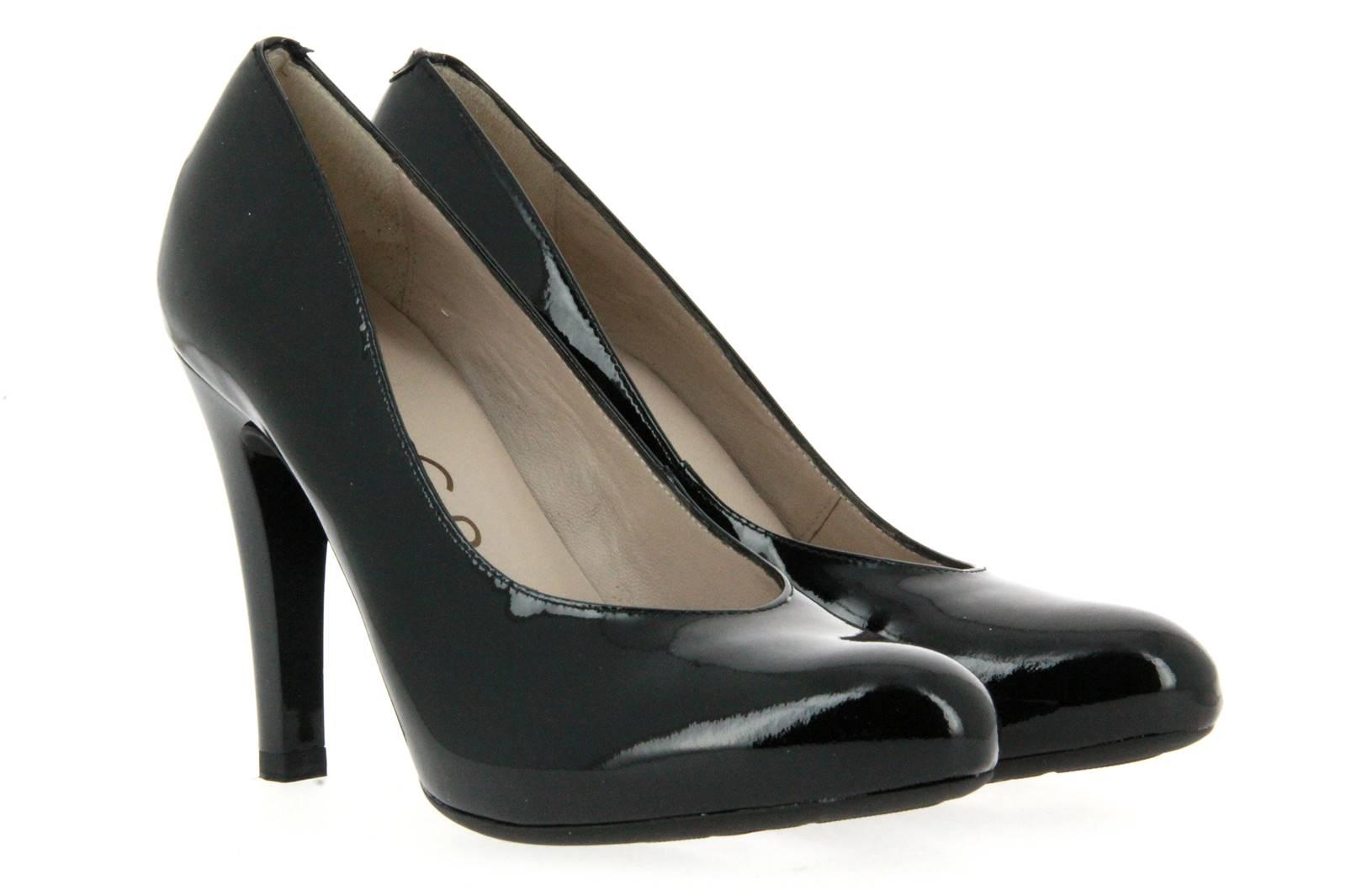 Unisa high heel PICHI BLACK PATENT